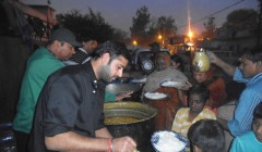 Food Distribution Camp