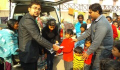 Cloth Distribution Camp