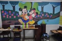 Cartoon Painted Walls