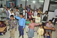 Programme on Nation Anthem by Physically&Mentally Challenged Kids.