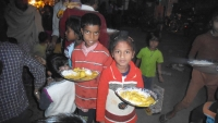 Free Food Distribution In Slums with an intent of no child should die hungry
